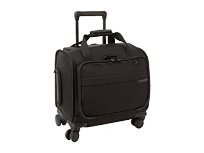 Briggs & Riley Baseline Carry-On Cabin Spinner (Black) Carry on Luggage