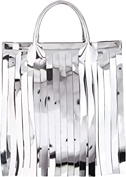 Metallic Fringe Bag