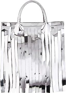 Metallic Fringe Bag