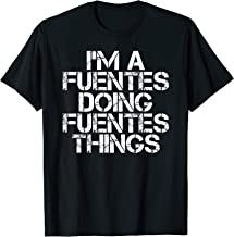 FUENTES Funny Surname Family Tree Birthday Reunion Gift Idea T-Shirt