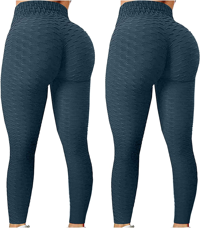 2PC TIK Tok Leggings Yoga Rare Pants for Butt Women Waist Lift High T Quality inspection