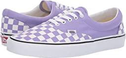 (Checkerboard) Violet Tulip/True White