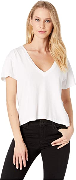 Essential Cotton Sparks V-Neck Top