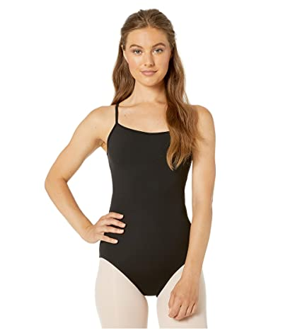 Bloch Mesh Back Camisole Leotard (Black) Women