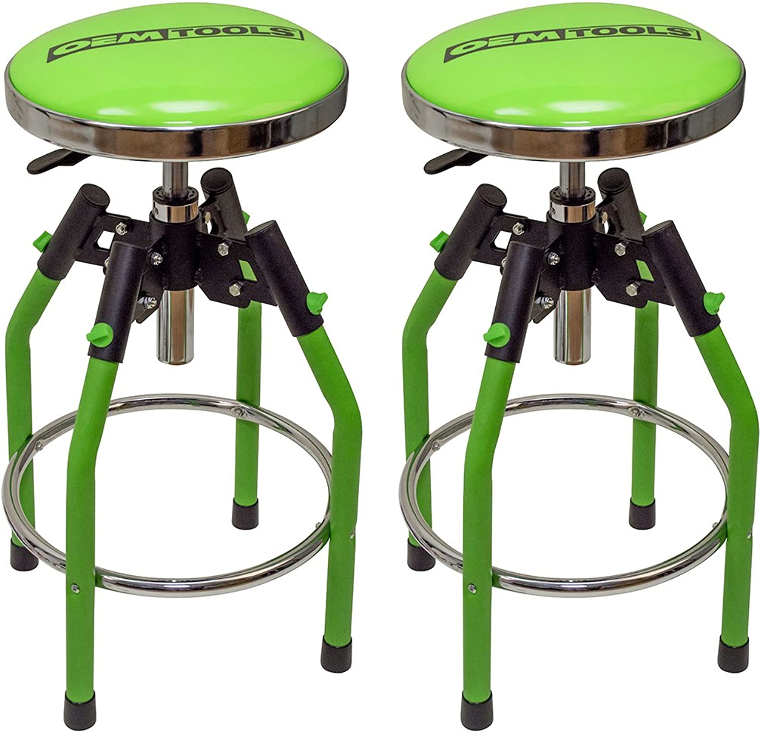 OEMTOOLS 24912 Adjustable Hydraulic Shop Stool - 2 Pack