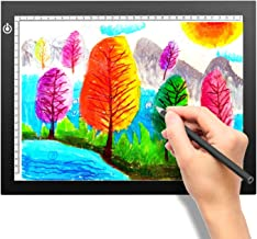 A4 Portable LED Light Box Trace, LITENERGY Light Pad USB Power LED Artcraft Tracing Light Table for Artists,Drawing, Sketc...