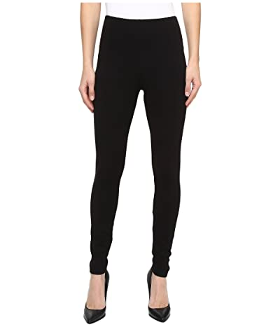 Lysse Taylor Seamed Leggings (Black) Women