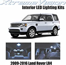 XtremeVision Interior LED for Land Rover LR4 2009-2016 (13 Pieces) Cool White Interior LED Kit + Installation Tool