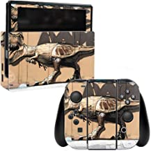 MightySkins Skin Compatible with Nintendo Switch - Street Dino | Protective, Durable, and Unique Vinyl Decal wrap Cover | Easy to Apply, Remove, and Change Styles | Made in The USA
