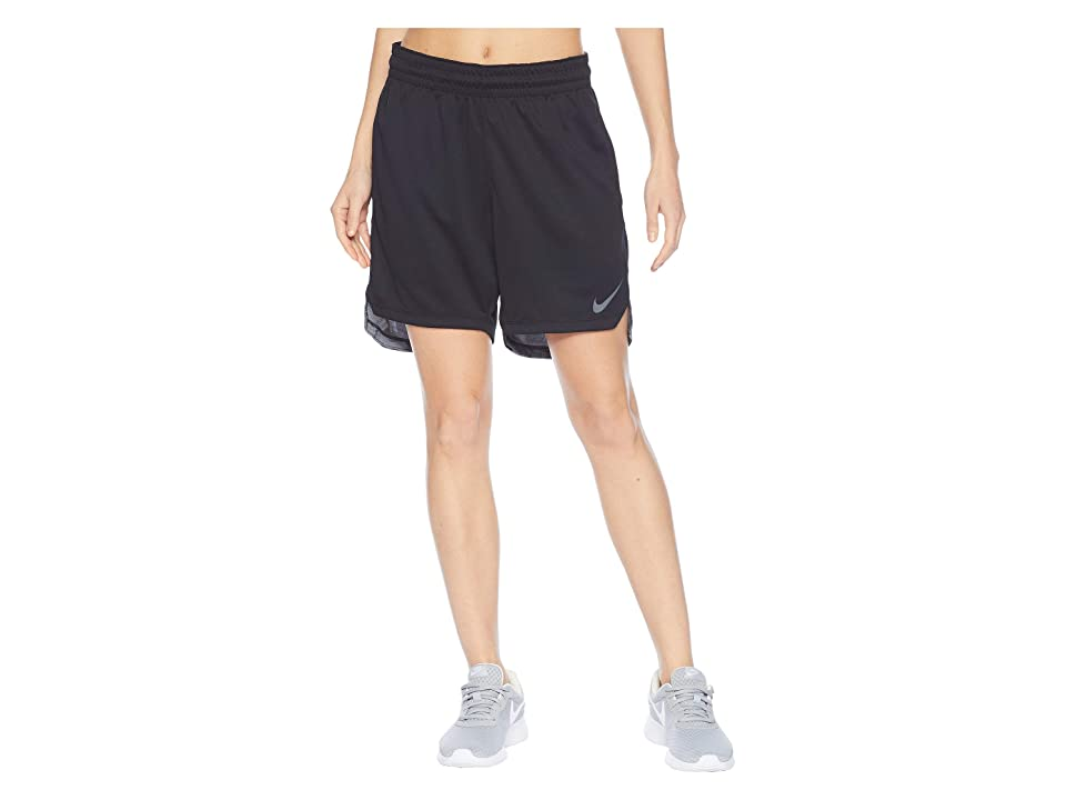Nike Elite Shorts (Black/Black/Cool Grey) Women