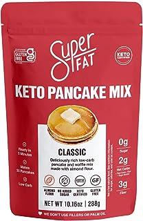 Keto Pancake Baking Mix & Waffle Mix -Fluffy Low Carb Pancakes -Keto Friendly, Diabetic, Paleo, Gluten- Fre...