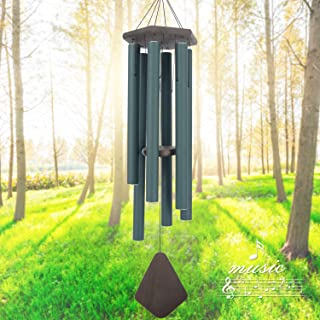 Wind Chimes Outdoor Large Deep Tone, 44'' Sympathy Wind Chime Amazing Grace Outdoor, Memorial Wind-Chime Personalized With...