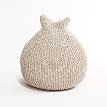 Knitting Bean Bag Chair Beanbag Chairs for Living Room or Bedroom