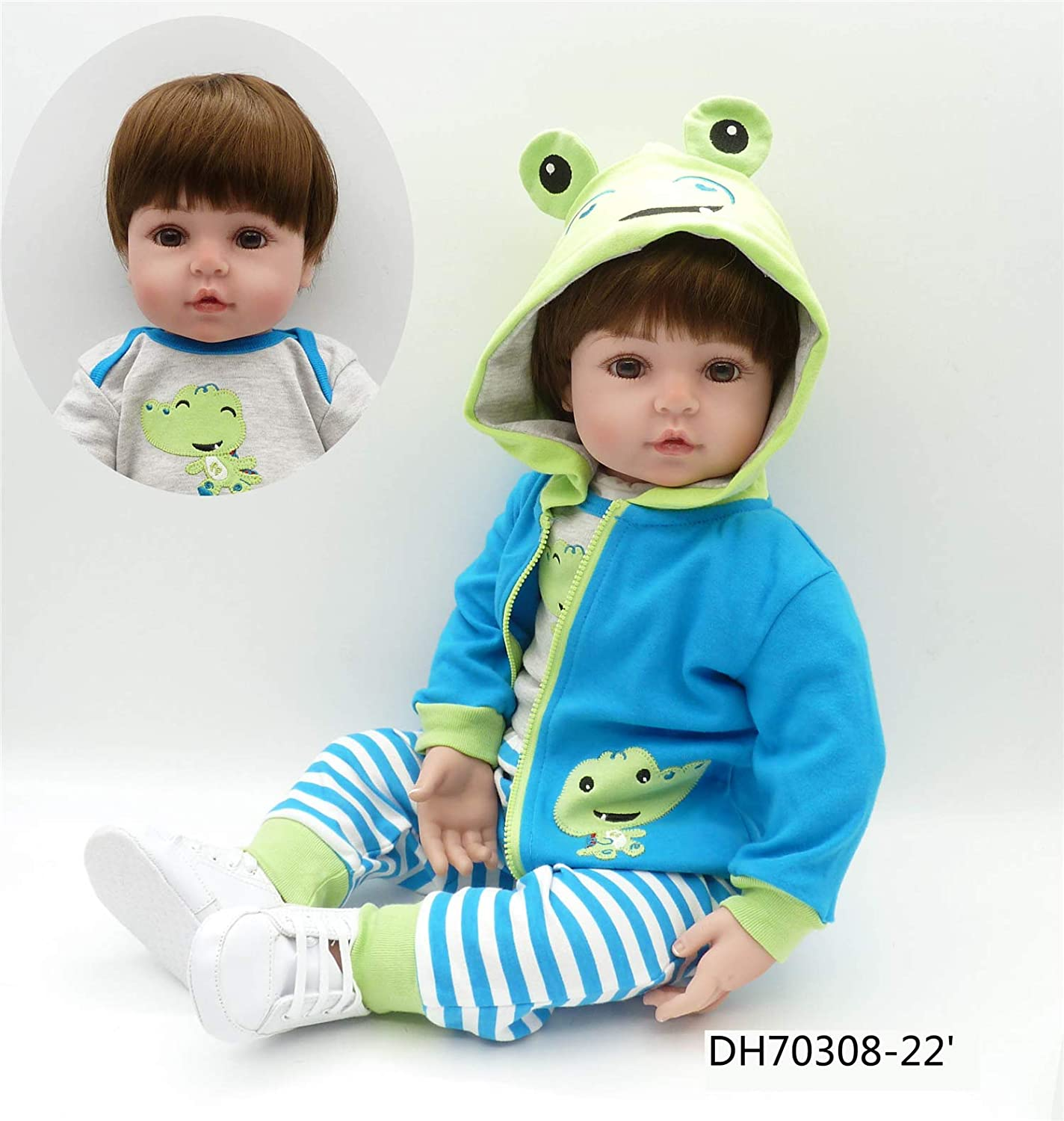 Angelbaby Doll Kansas City Mall Reborn Toddlers Fixed price for sale Dolls Boy That 24 Look inch Real