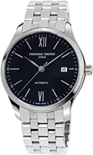 Frederique Constant Men's 'Classics Index' Automatic Stainless Steel Casual Watch, Color:Stainless (Model: FC-303BN5B6B)