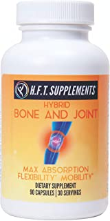 Glucosamine Chondroitin with MSM Turmeric Curcumin Boswellia Frankincense Vitamin D Joint Support by H.F.T. Supplements | ...