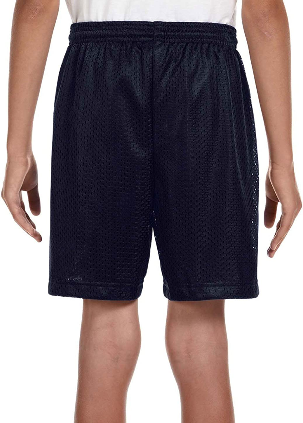 A4 NB5301 Youth Tricot-Lined 6 Mesh Shorts