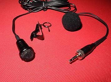 [WALLER PAA] New Lapel Lavalier Microphone Mic For Sennheiser G1 G2 G3 Wireless Belt pack