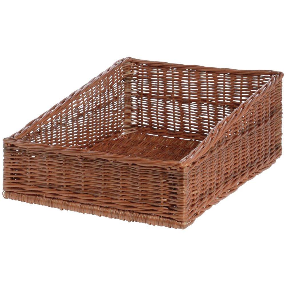 Willow Basket Natural Rectangular Tapered Max 47% OFF - 16