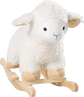 Oveja balancin roba, 'oveja' con suave tapizado, asiento