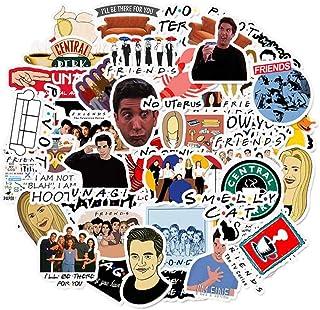 Friends Tv Show 50 Stickers Anime Cartoon American television friendship - ملصقات مسلسل فريندز 50 قطعة الأصدقاء