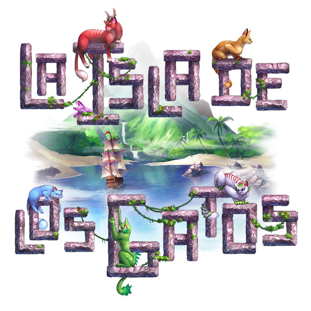 Maldito Games La Isla de los Gatos: Amazon.es: Juguetes y juegos