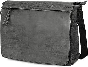 "Mens Laptop Messenger Bags 15.6"" Water Resistant Shoulder Bag"