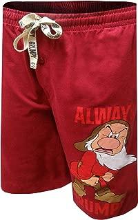 Disney Men's 100% Cotton Sleep/Lounge Drawstring Pajama...