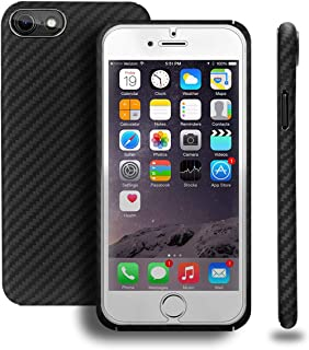 Iphone 8 Case Aramid Fiber 100% Minimalist, Bulletproof Iphone 8 Case Made of Kelvar Fiber Armor Material, Ultra Slim Lightweight Case, Snap-on Case for iPhone 8 with Omnidirectional Protection