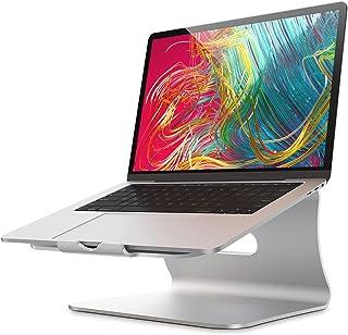 Bestandノートパソコンスタンド 11 '' -16 '' Macbook Air Pro/富士通と互換性のある放熱性に優れたアルミニウム合金PCスタンド-シルバー