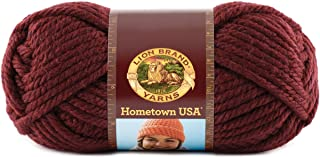 Lion Brand Yarn 135-189 Hometown Yarn, Napa Valley Pinot (1 Skein)