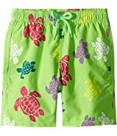 Vilebrequin Kids - Tortues Multicolores Turtles Printed Trunks (Little Kids/Big Kids)