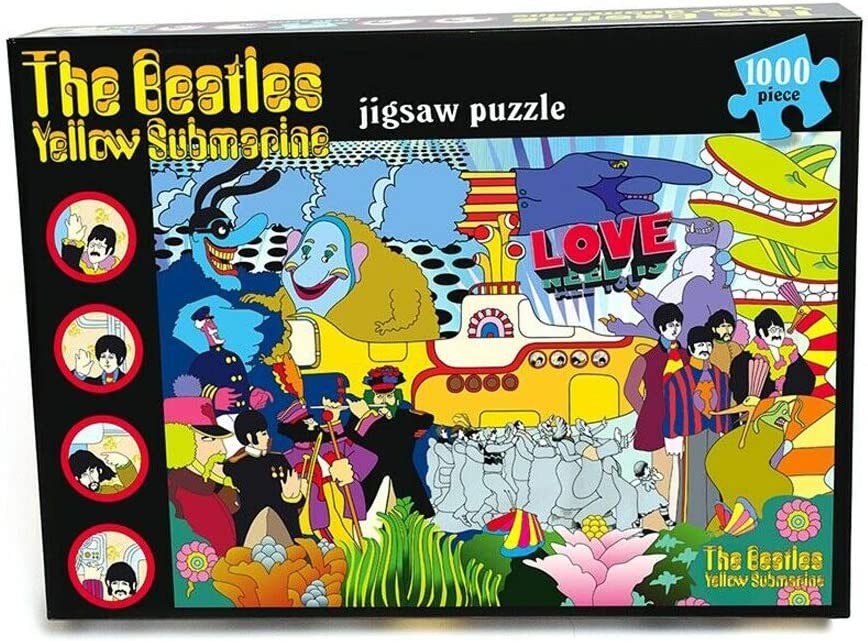 The Beatles - Yellow Submarine - 1000 Piece Jigsaw Puzzle - A Mu