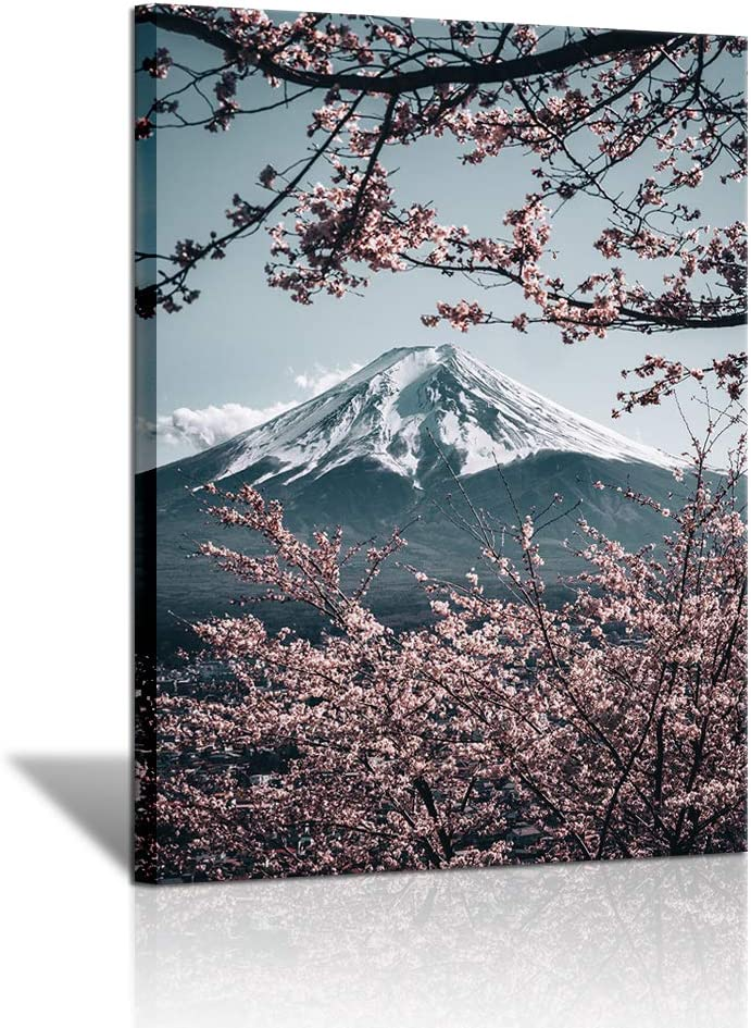 3 Sale Pieces Mount Fuji Canvas Wall Colorado Springs Mall Home for Painting Art Cher Decor