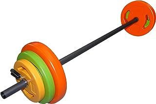 Mancuernas de vinilo con juego de pesas Tunturi, unisex adulto