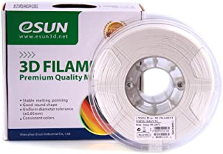 PLA eSUN 3D Filament 1.75mm White Color