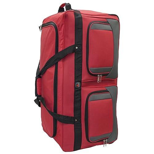 4dbafcb2b907 45361 Amaro 36 Inch 1200d Explorer Rolling Duffle Bag