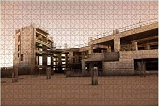 Jigsaw Puzzle 1000 Pieces Abandoned construction site at night Adults Leisure Children Education Creative Art Toys Meaning...