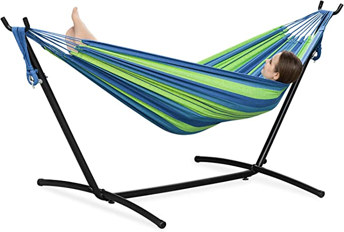PNAEUT 2-Person Hammock - High-Capacity Hammock with a Stand