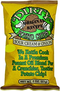 Dirty Kettle Chips, Sour Cream & Onion 2 oz. Bags (25 count)