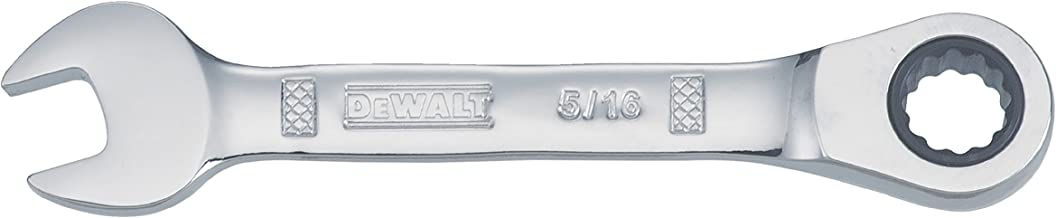 مفتاح براغي DEWALT Stubby Combination Wrench 1/4'' SAE