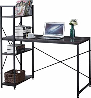Computer Desk with Storage Shelves 47 Inch Home Office...