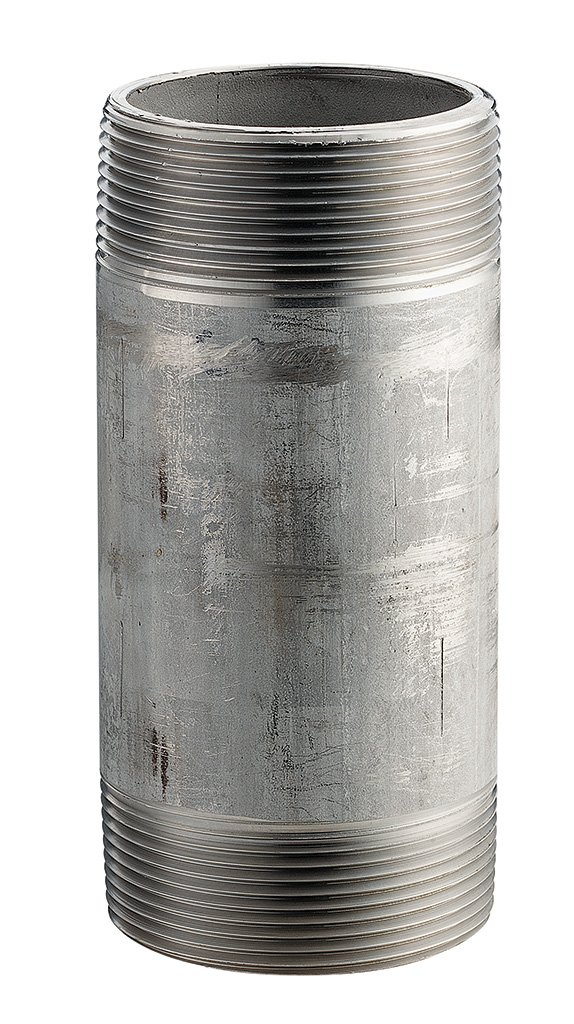 """Stainless Steel 3//8/"""" Npt Pipe Nipple Schedule 40 lengths 1 1//2 to 36/"""" inch"""