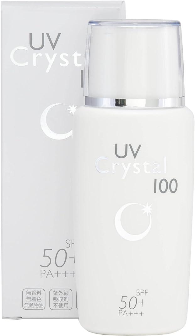 頬骨選ぶローマ人UV クリスタル 100 60ml