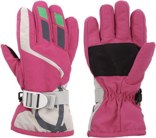 discount OPTIMISTIC Ski Gloves for Kids Winter Warm high quality Fleece Gloves for Boys and Girls Snow Skiing Windproof Gloves Winter Mittens for Outdoor lowest Cycling Snowboarding Skiing,Waterproof & Windproof online