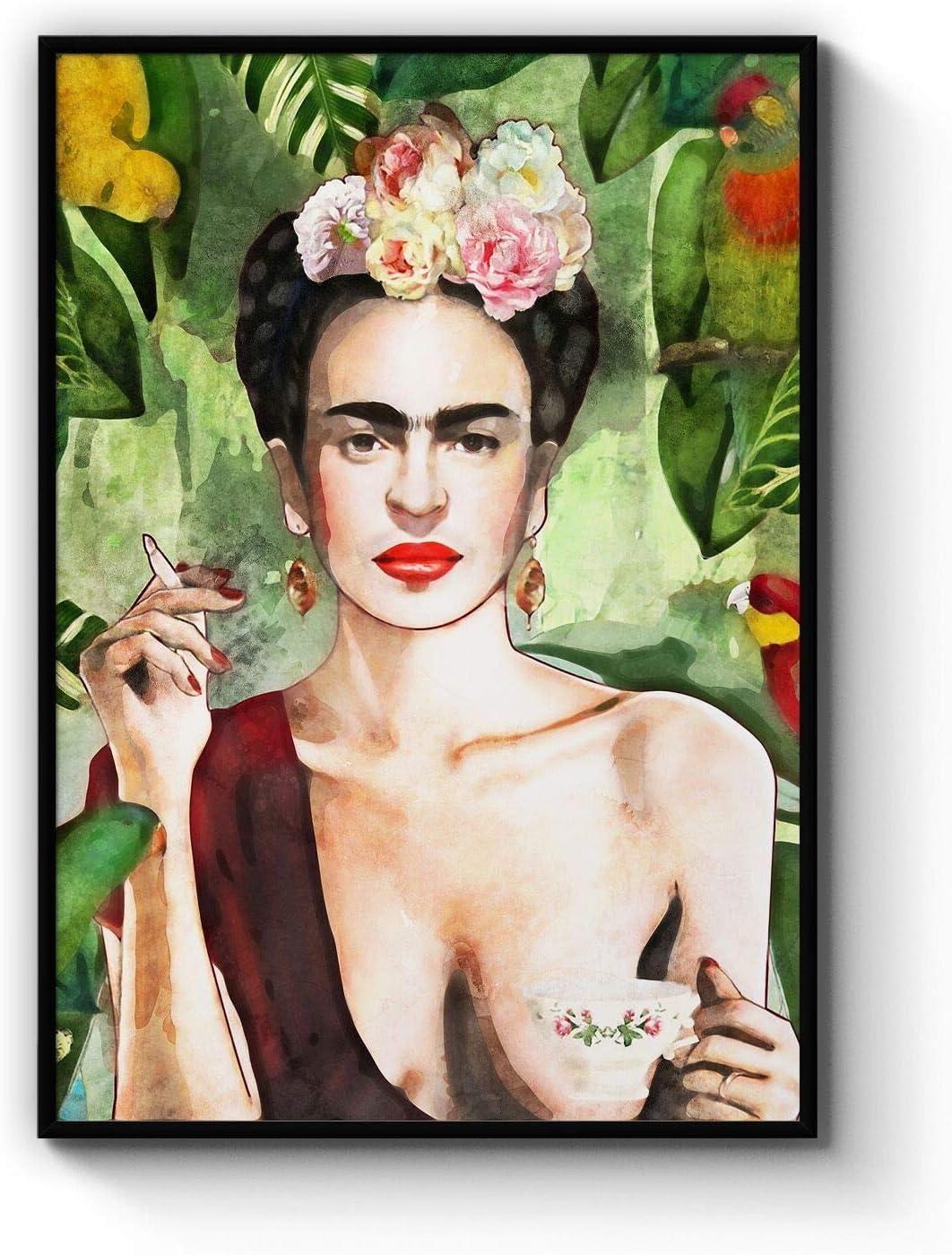 Sales for sale Frida Kahlo Con Amigos Print 35% OFF Art Wall