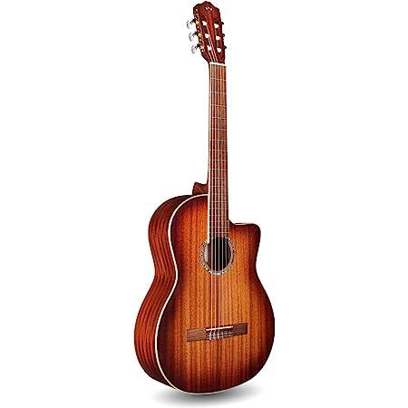 Cordoba C4-CE Edge Burst Cutaway Classical Acoustic-Electric Nylon String Guitar, Iberia Series
