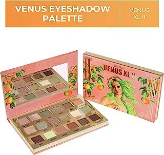 Lime Crime Venus XL II Eyeshadow Palette - 18 Color Matte, Foil, Iridescent and Metallic Eyeshadows - Earthy Tones - Buttery Smooth Formula - Mirrored Box - Vegan