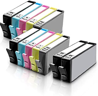12 Inkfirst Compatible Ink Cartridges for HP 564 XL 564XL High Yield (4BK, 2PBK, 2C, 2M, 2Y) Photosmart 7510 7515 7520 752...