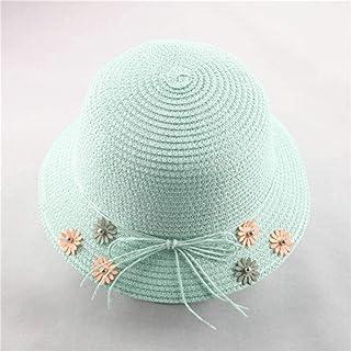 Fashion Small Fresh Child Straw Hat Baby Sun Hat Girl Summer Cap Beach Visor Hat Straw Bag Two-Piece Set